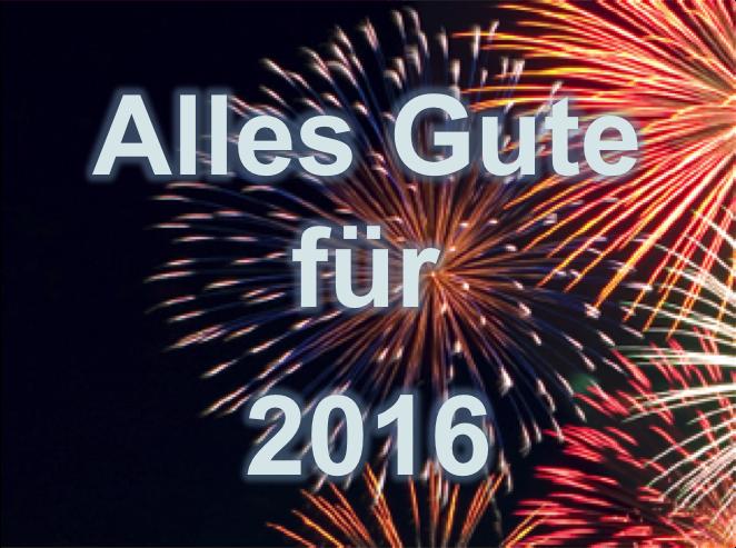 Alles Gute für 2016