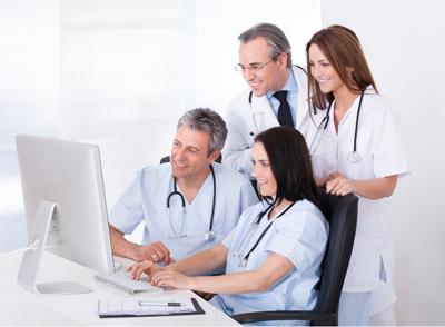 Betreuer und Ärzte