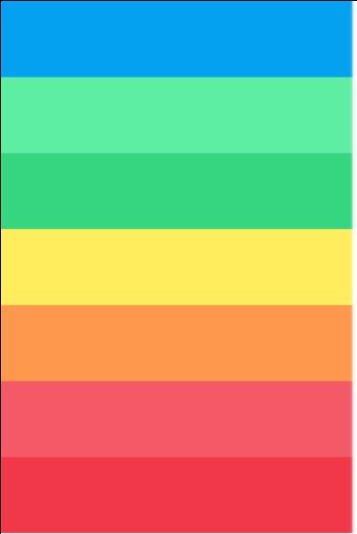 Persönliche Farbskala