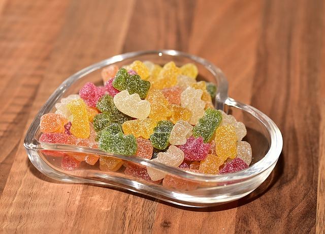 Isoglukose in Süßigkeiten