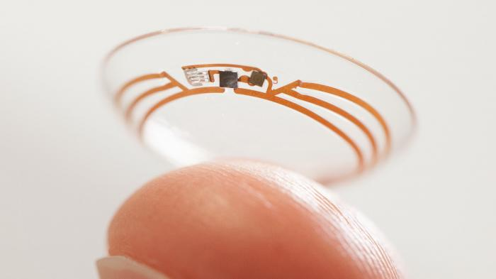 Google-Kontaktlinse